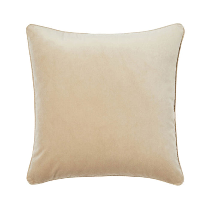 Zoe feather cushion - barley