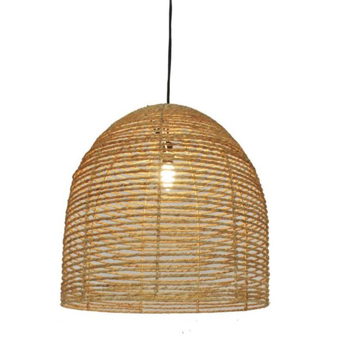 Beehive jute light shade