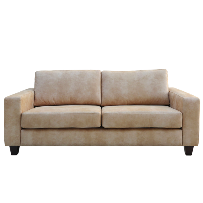 Coco 2.5 seat sofa - Vegan Leather Eastwood 'Fawn' LAST ONE!