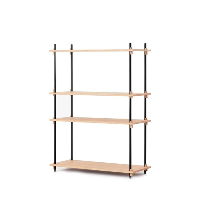 Moebe Medium Shelving System - Oak