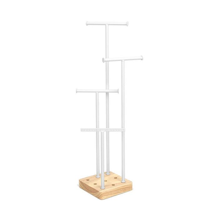 Umbra Acro Jewellery Stand - white/natural