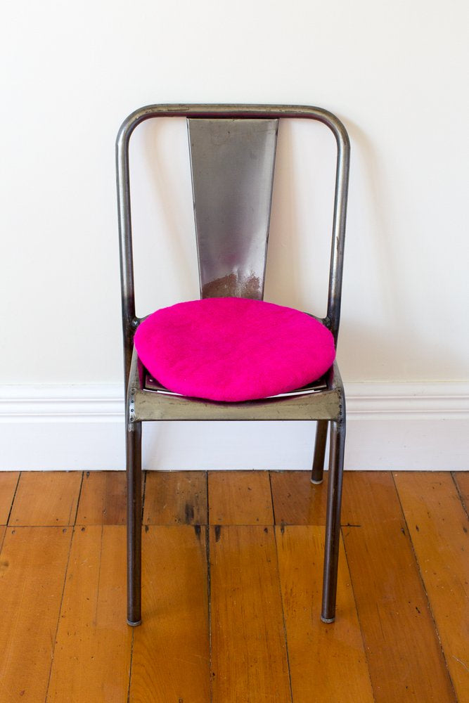 Misery Guts Tush Cush Cushion - hot pink