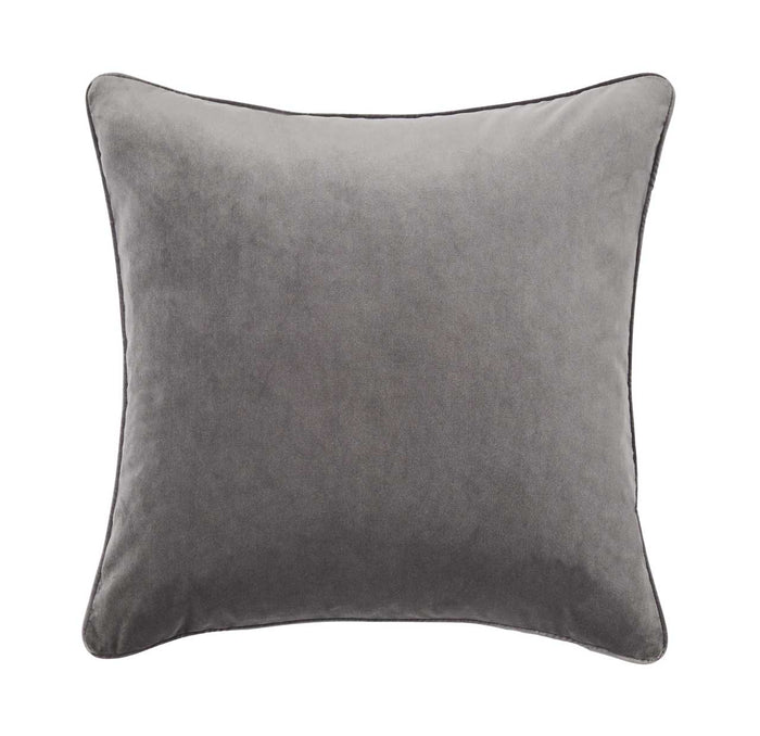 Zoe feather cushion - flint