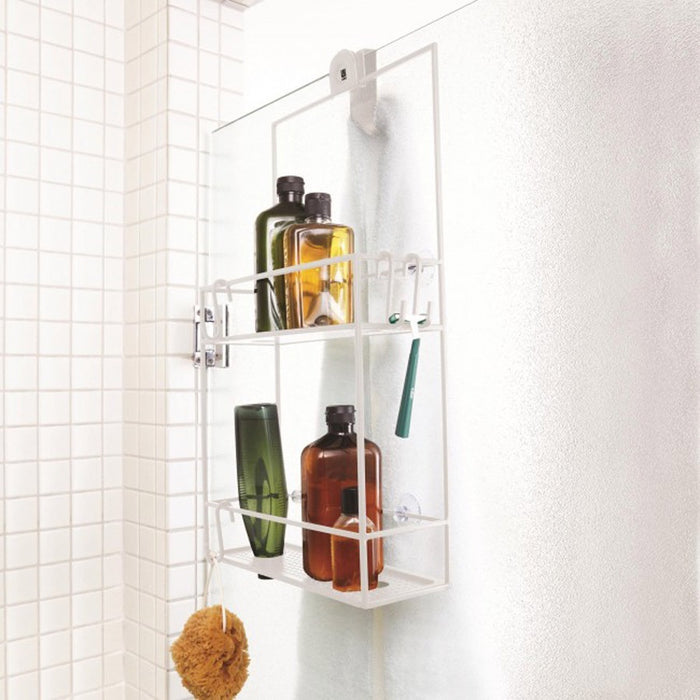 Umbra Cubiko shower caddy - white