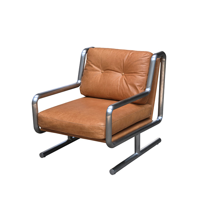 Concorde Leather Armchair - Russett