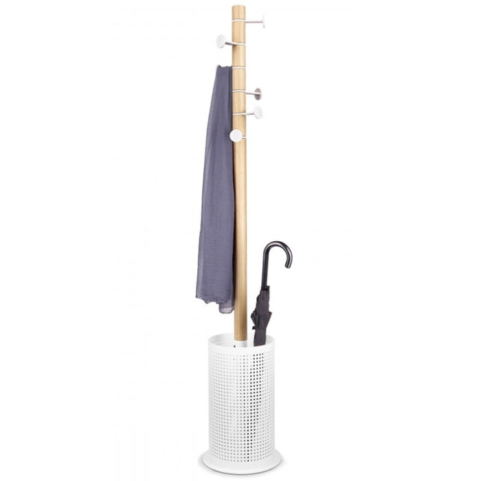 Promenade coat rack - white