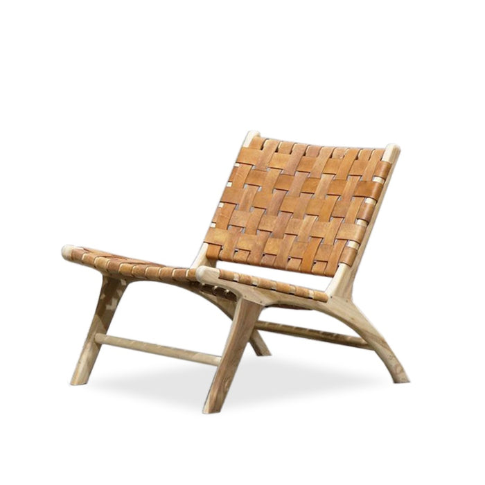 Acapulco low chair - tan