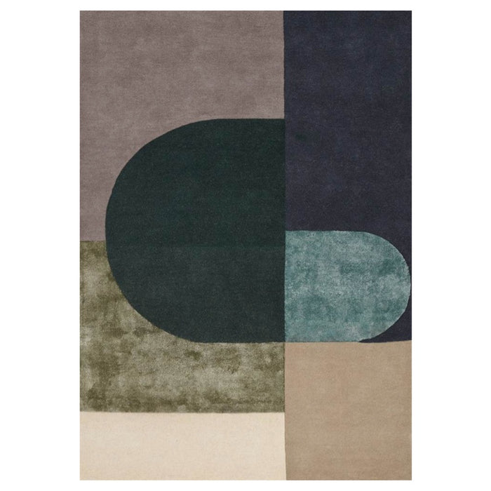 Vilja Wool Rug - Green