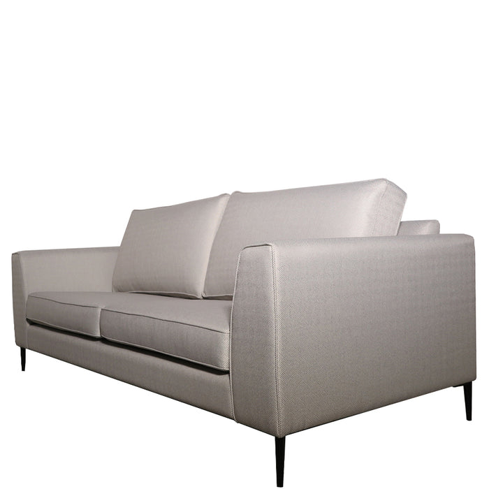 Santa Barbara 3.5s Sofa - Rhea 'Chrome'