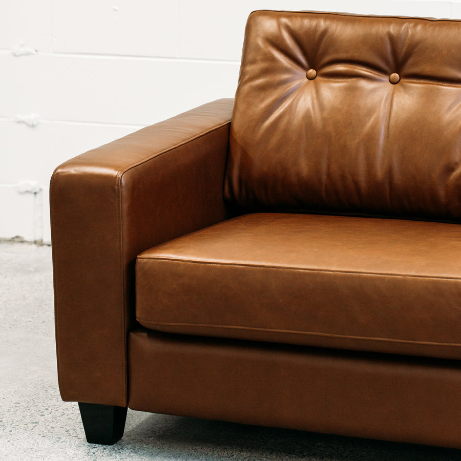 The Queen Daybed- Steel, solid oak