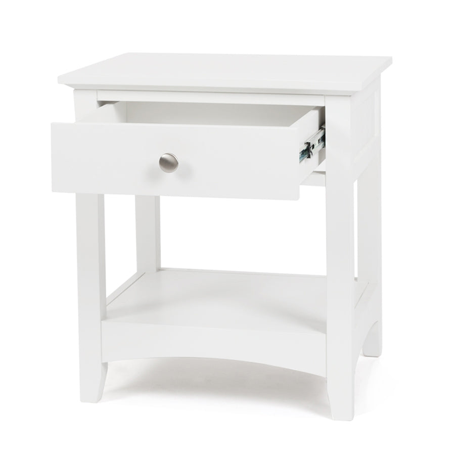 Chloe 1 drawer bedside table