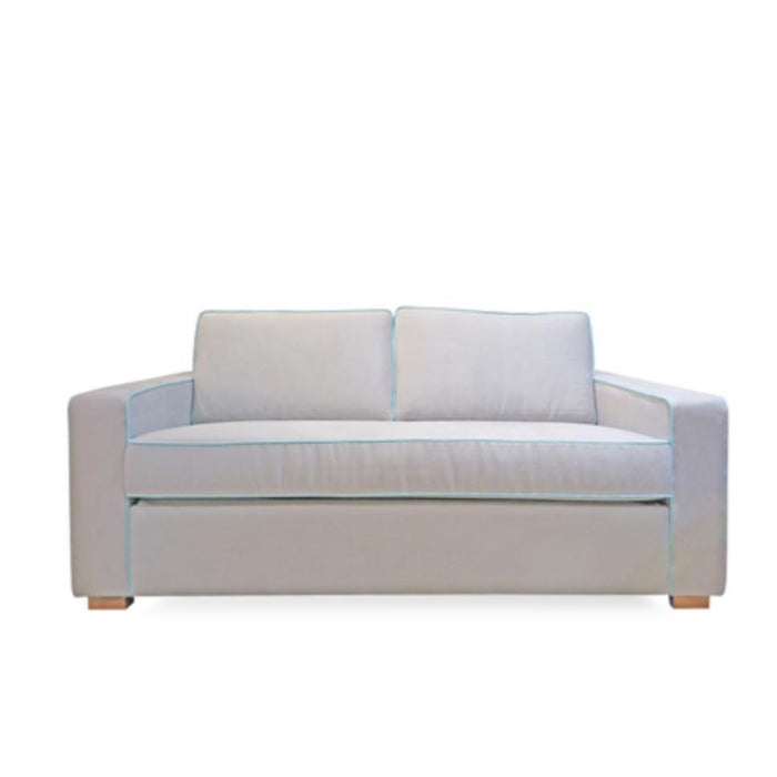 Coco Double sofa bed - Macrosuede 'Steel'