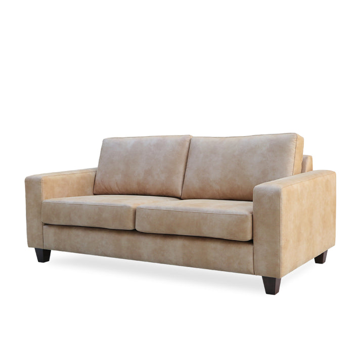 Coco 2.5 seat sofa - Vegan Leather Eastwood 'Fawn'