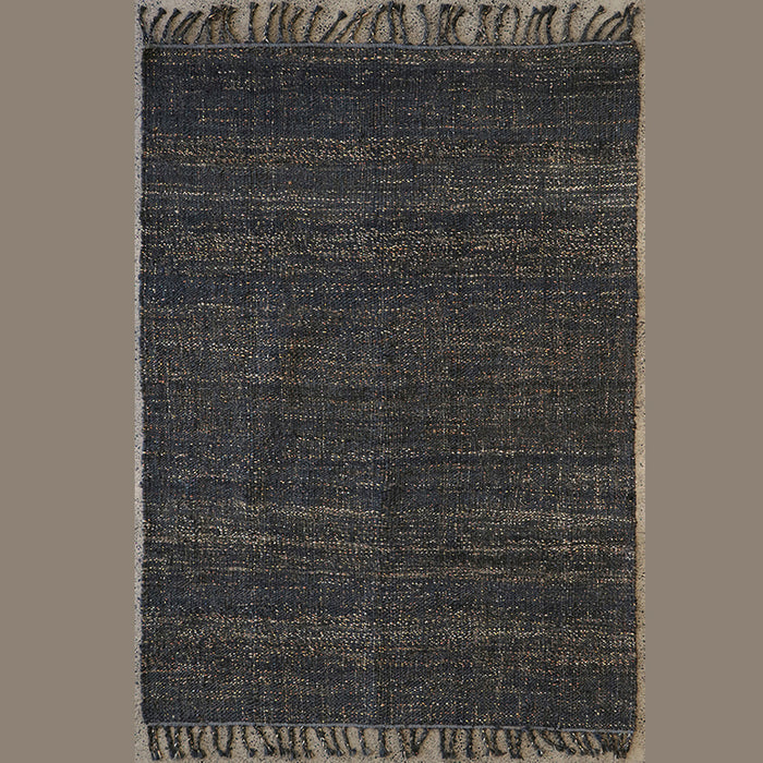 Cortes (Hemp) Floor Rug - Coal