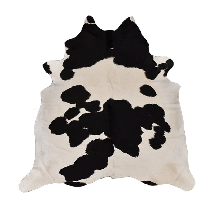 Cow hides - white/black