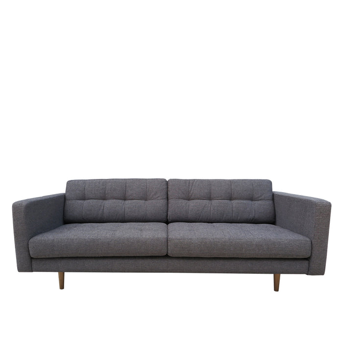Hamptons 2 Seat Sofa - Grey