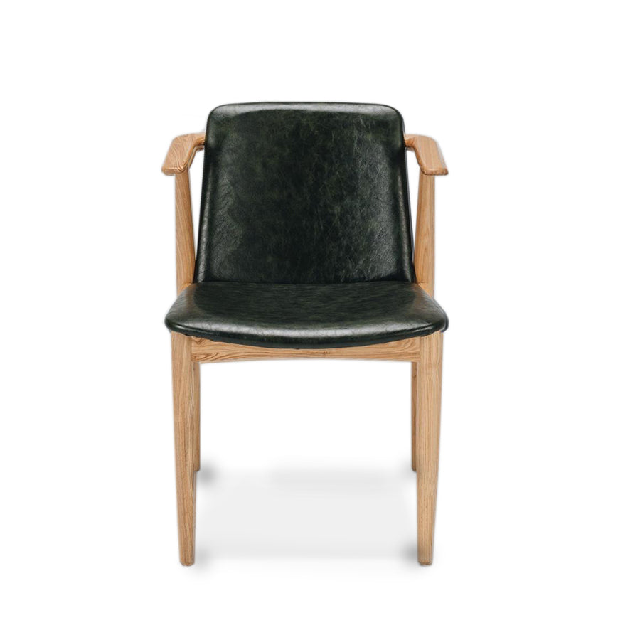 Flo dining chair - vintage green