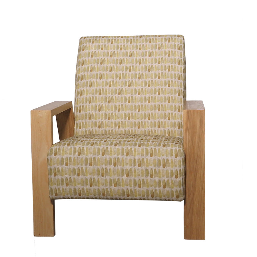 Mogambo Armchair - Brianna 'Daffodil' - front view