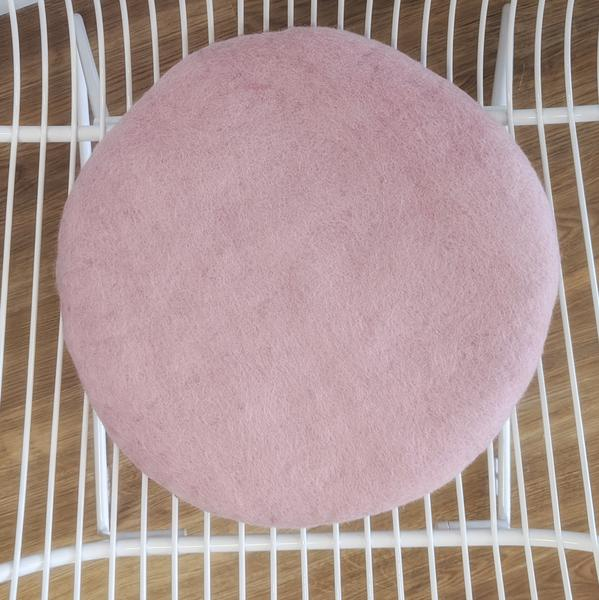 Misery Guts Tush Cush Cushion - powder pink