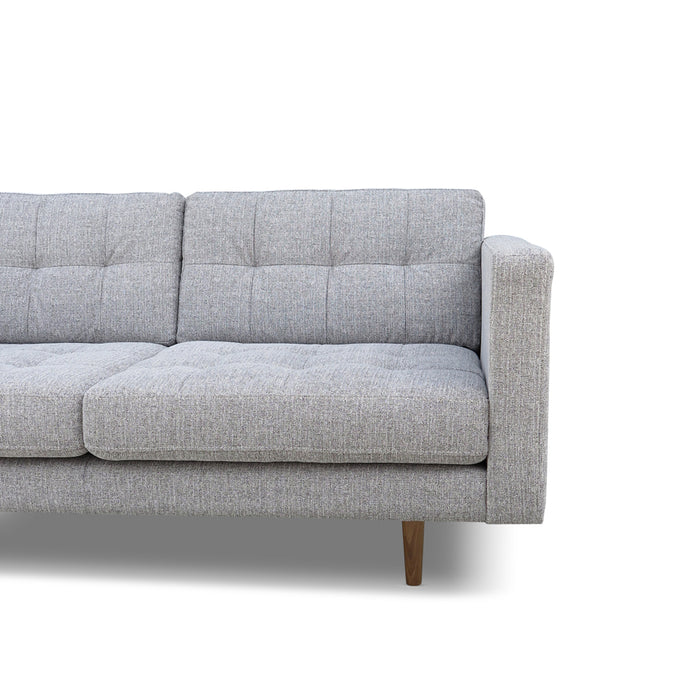 Hamptons 2 Seat Sofa - Light Grey