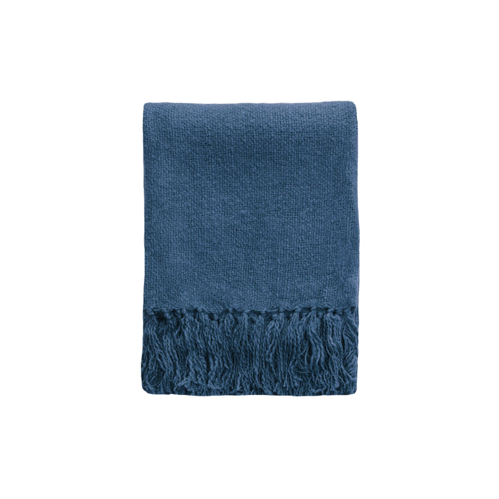 Serenade Throw - Ink Blue
