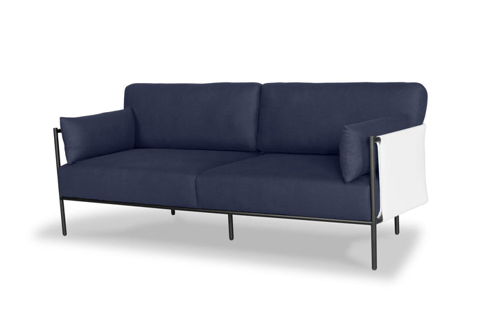 Mwaka 3 Seat Sofa - Navy - Only 2 left