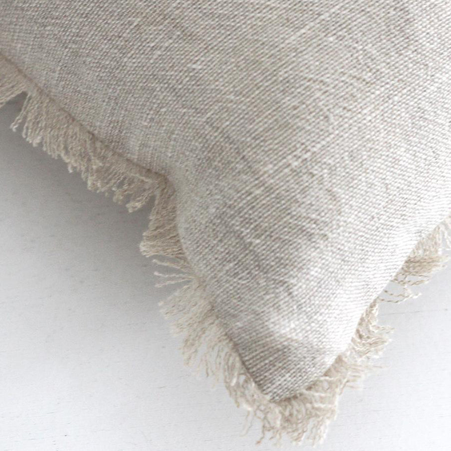 Keaton Cushion - Cream/Natural - Details