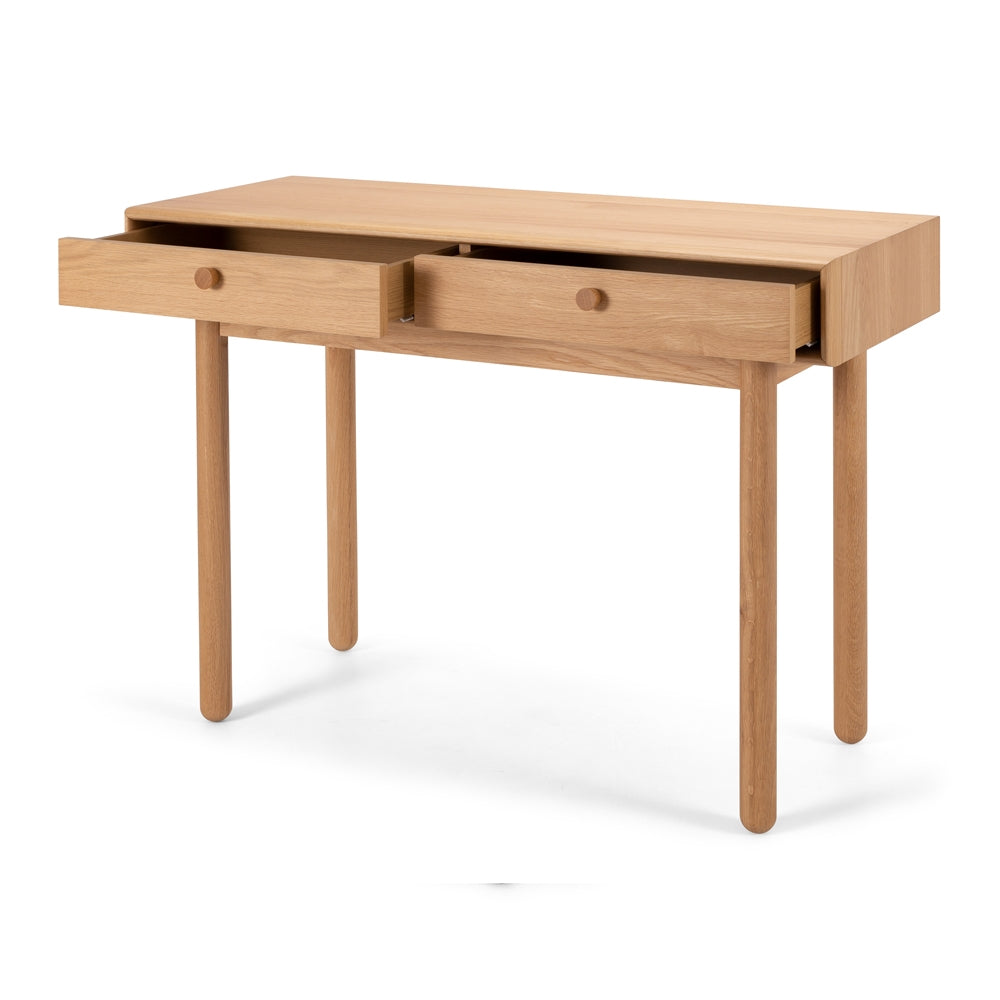 Lars 2 drawer console table