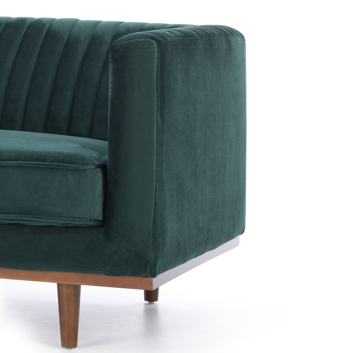 Madison 3 Seat Sofa - Dark Green