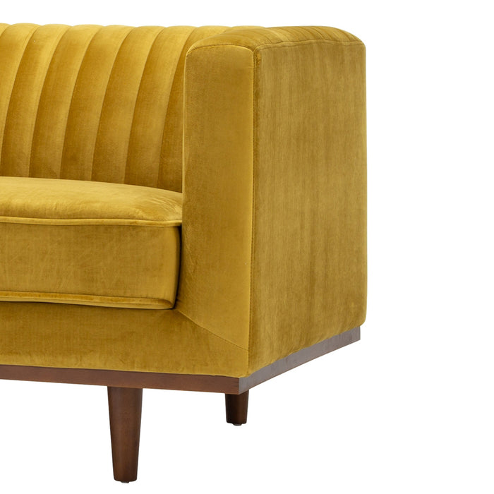 Madison 3 seat sofa - golden