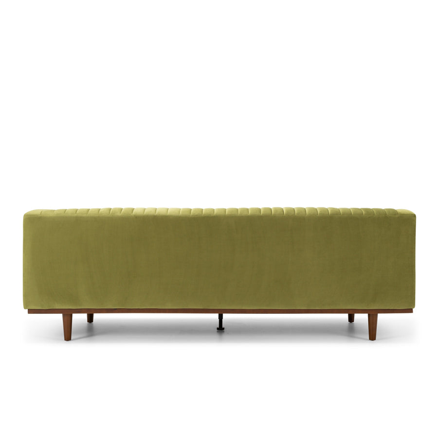 Madison 3 seat sofa - leaf