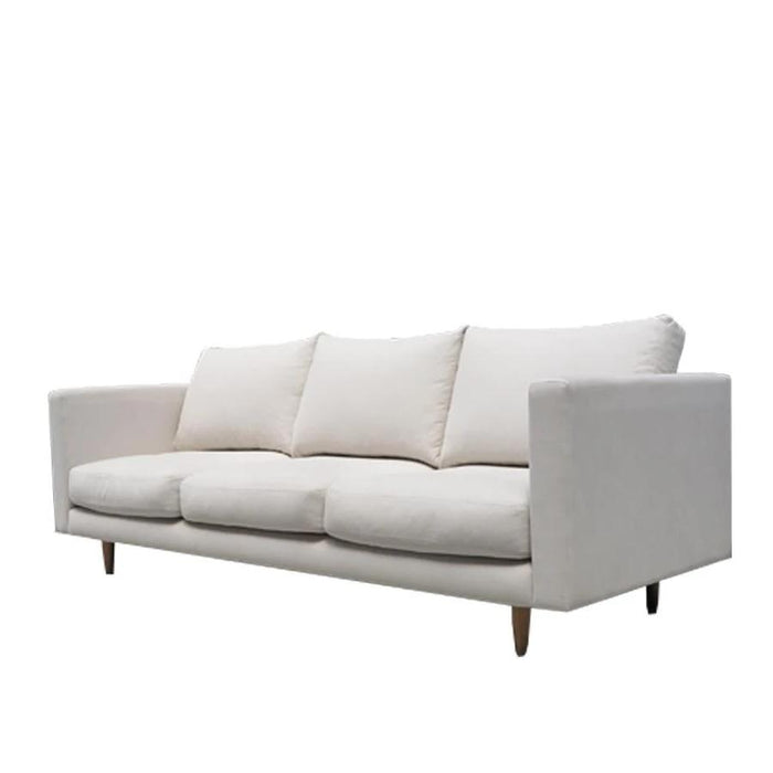 Monterey 3 Seat sofa white fabric
