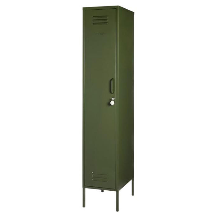 skinny locker in olive colour