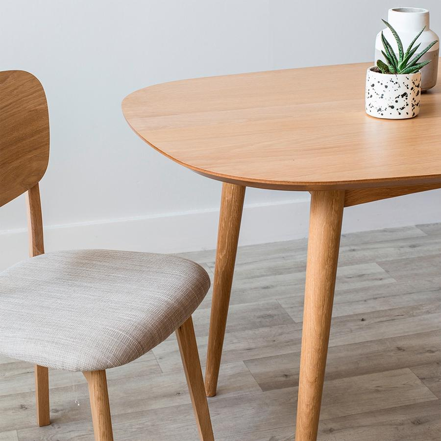 Oslo dining table - 6 seater
