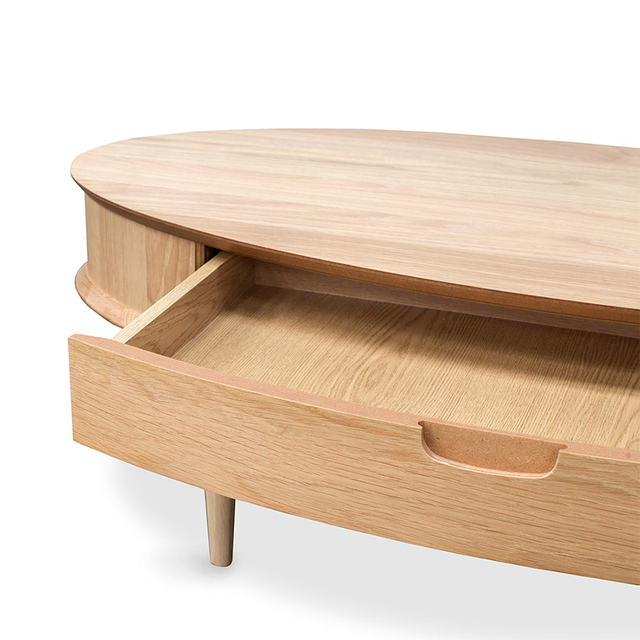 Oslo oval coffee table