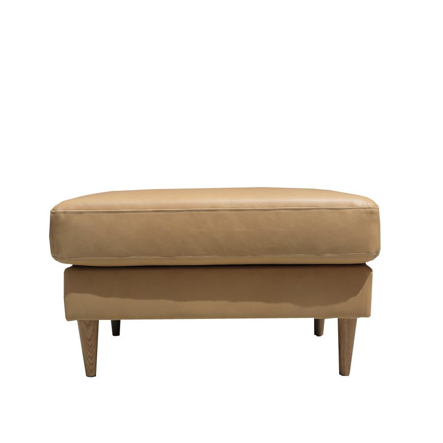 Pillow Top Ottoman - Coronet 'Camel'