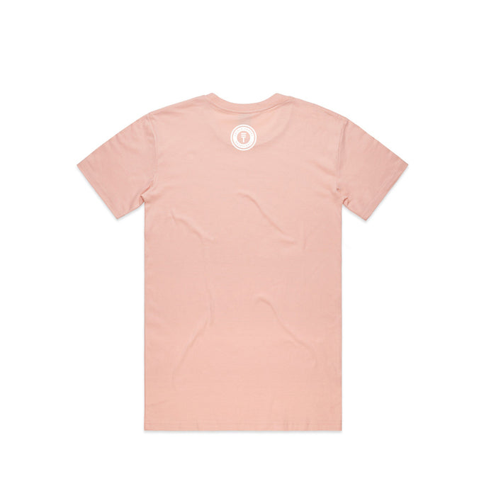 Newtown T-shirt - Pale Pink, back