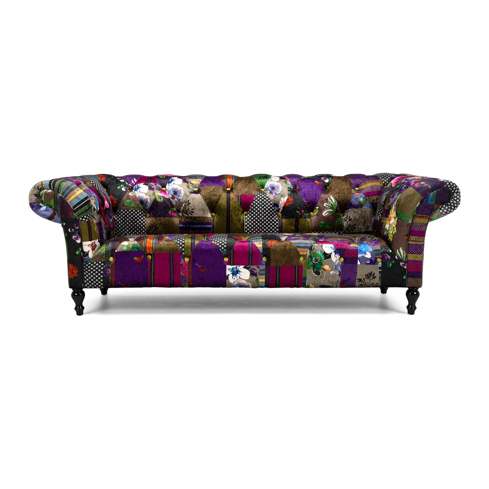 Patchwork 3 Seat Sofa