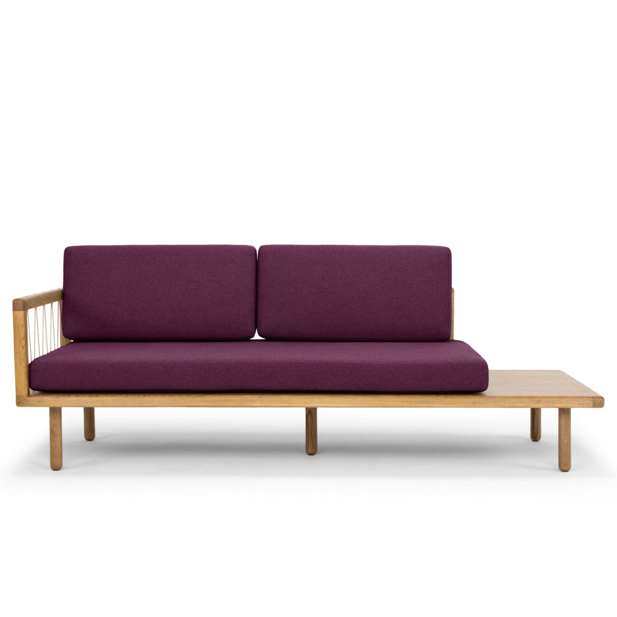 The Queen daybed - plum