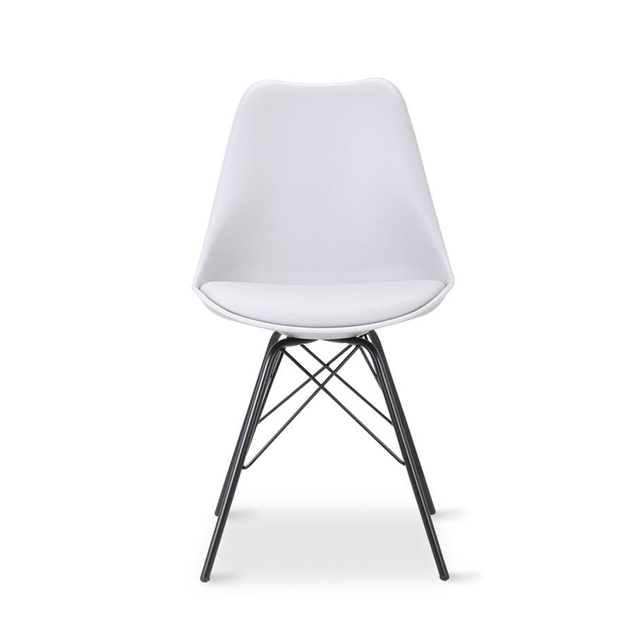 Malibu Dining Chair - White
