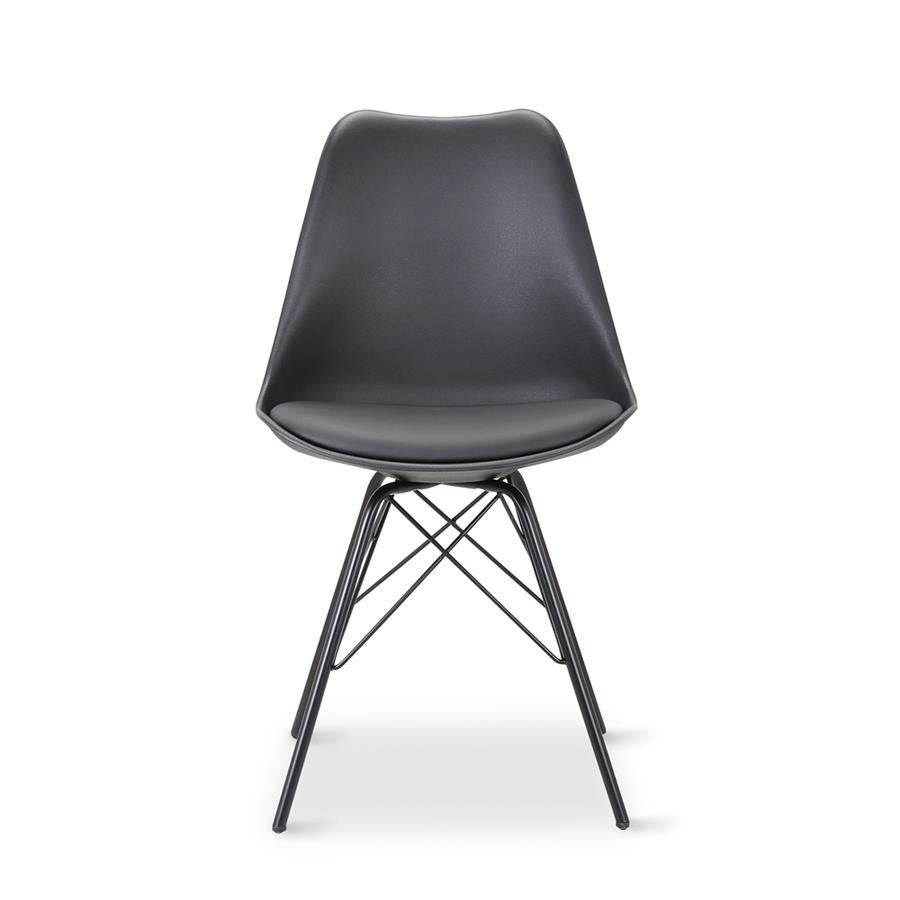 Malibu Dining Chair - Black