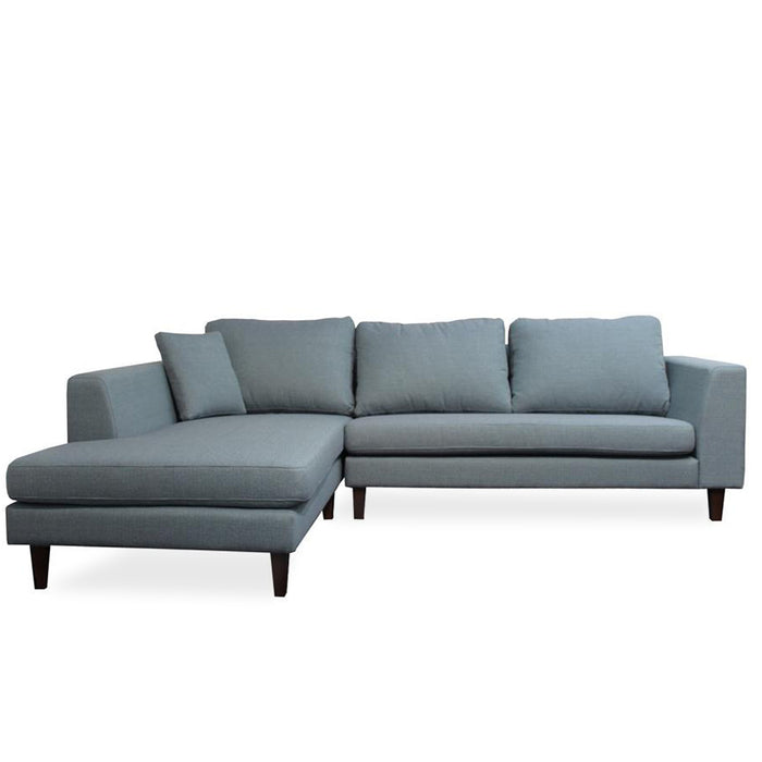 Santa Barbara Sofa & Lge Chaise - Chambray 'Lake'