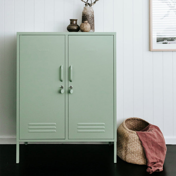 Mustard Made Midi Locker - Sage