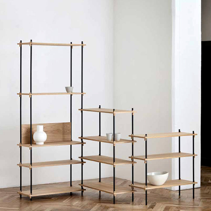 moebe shelving medium oak large system
