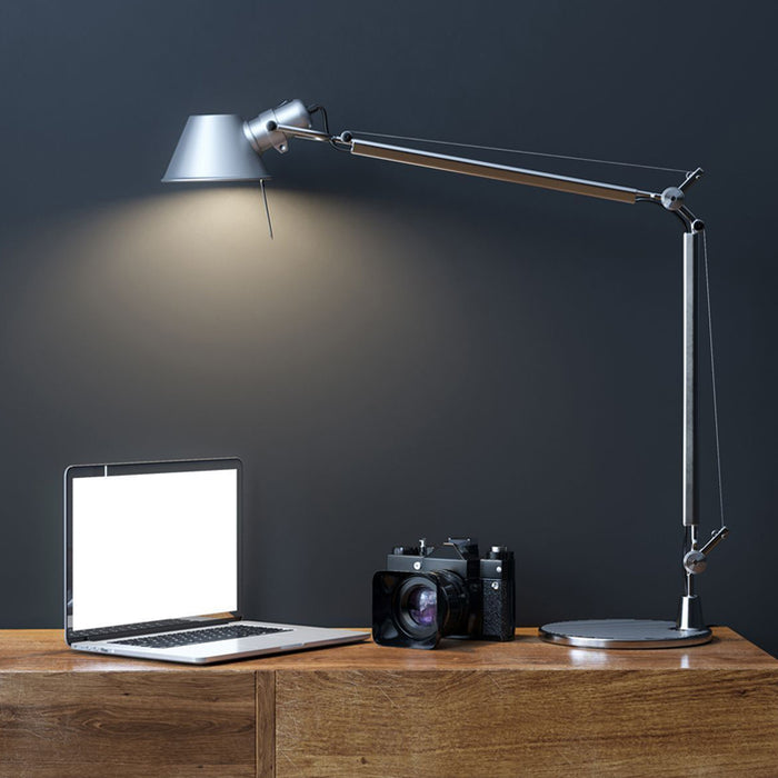 Tavolo Desk Lamp - Silver