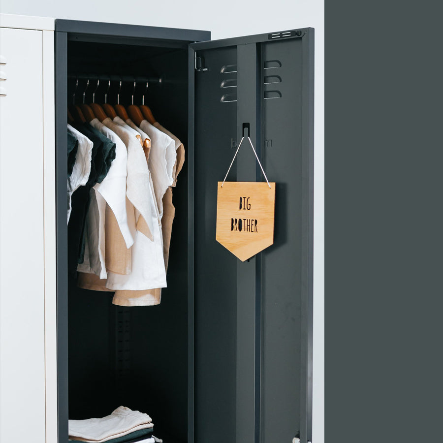 Mustard Made Skinny Locker - Slate