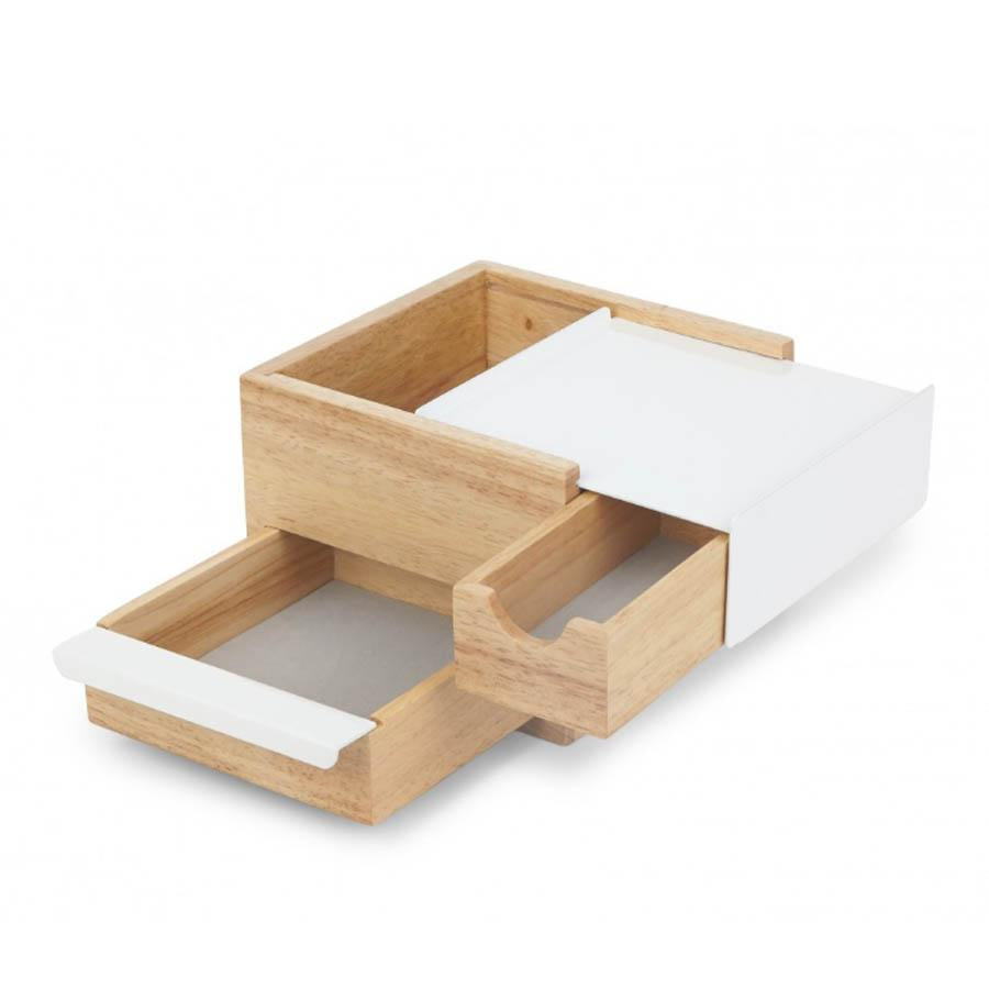 Umbra Stowit jewellery box - natural