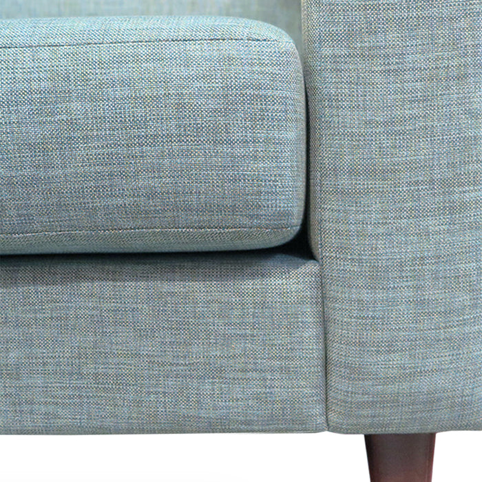 tango 3 seat sofa in mint green