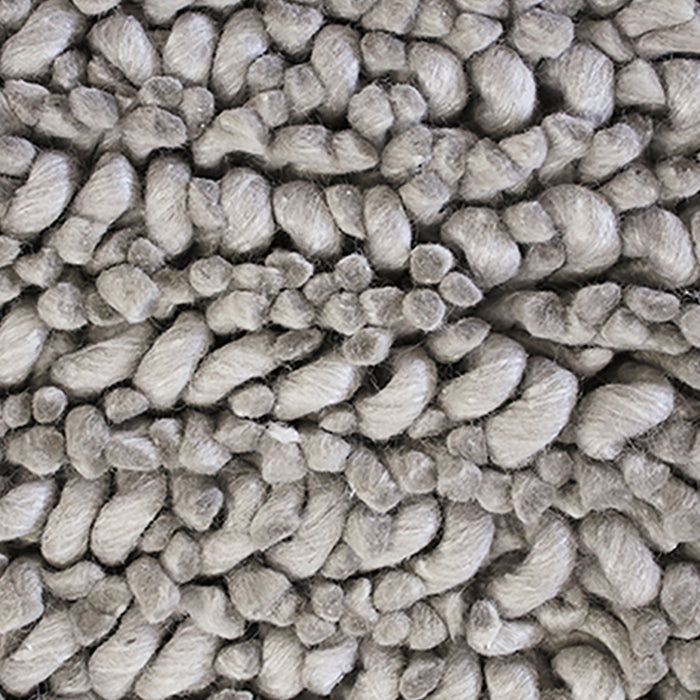 Wanaka wool rug - light grey