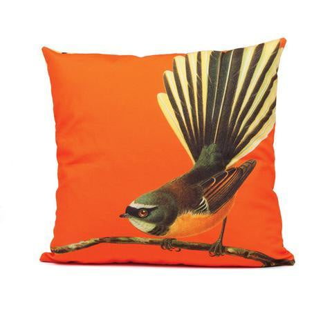 Bright Fantail cushion